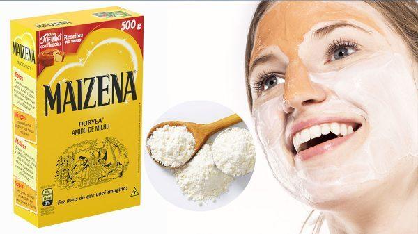 Máscara de Maizena ajuda a melhorar a pele