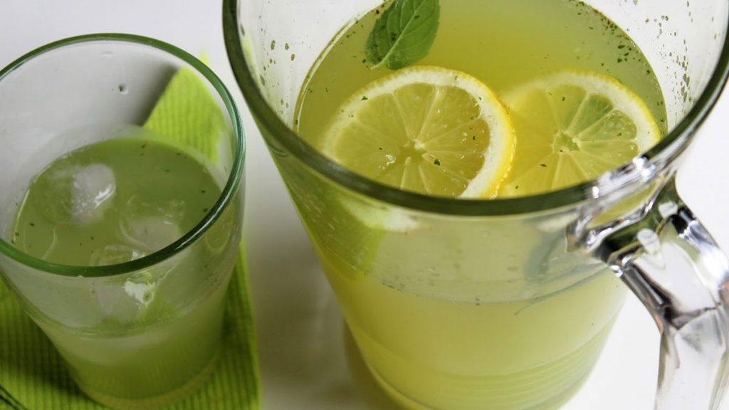 Receita de limão e hortelã para eliminar gordura do fígado.